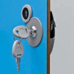 serratura per chiusura a chiave