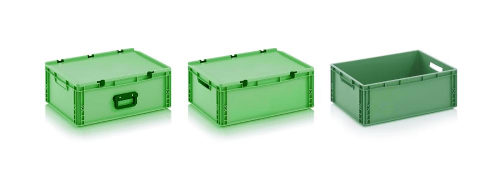 Contenitori industriali in plastica campeotto for Cassette di plastica riciclo