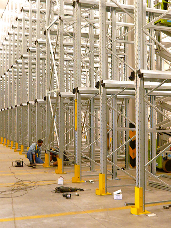 mantaggio scaffalature industriali