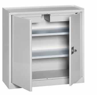 armadio metallico basso con ante