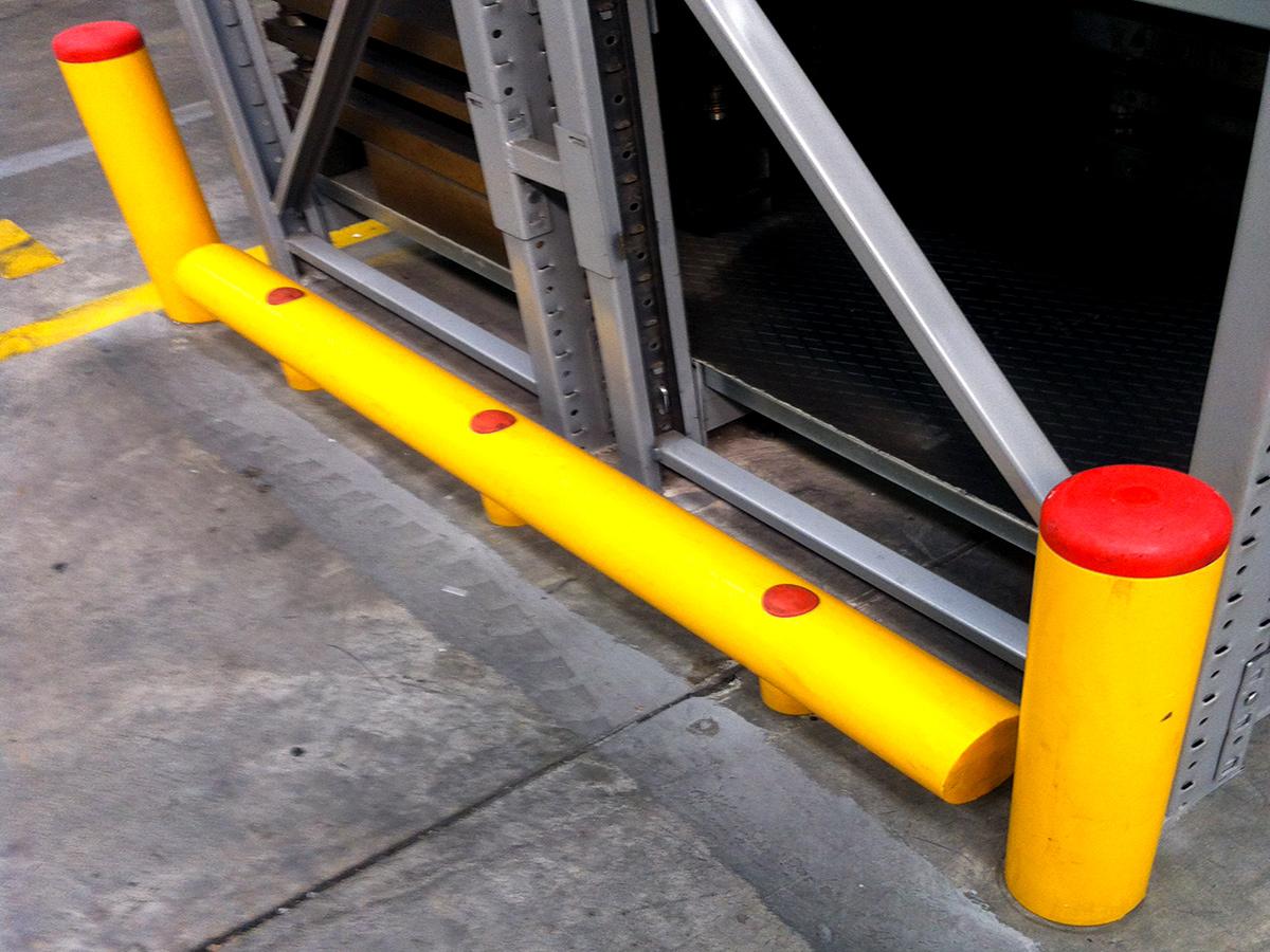 guard rail il plastica
