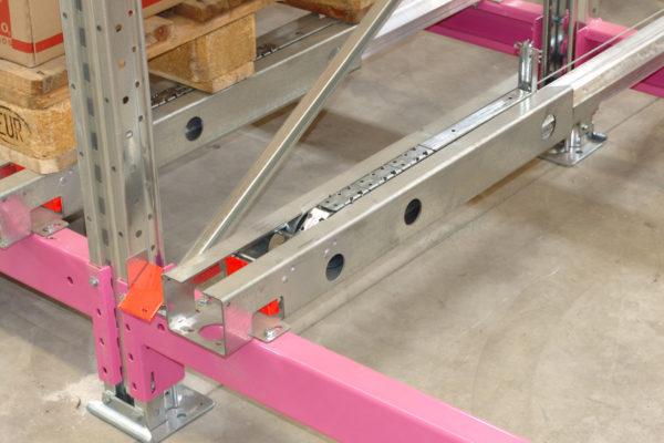 catena scaffalatura flow rail