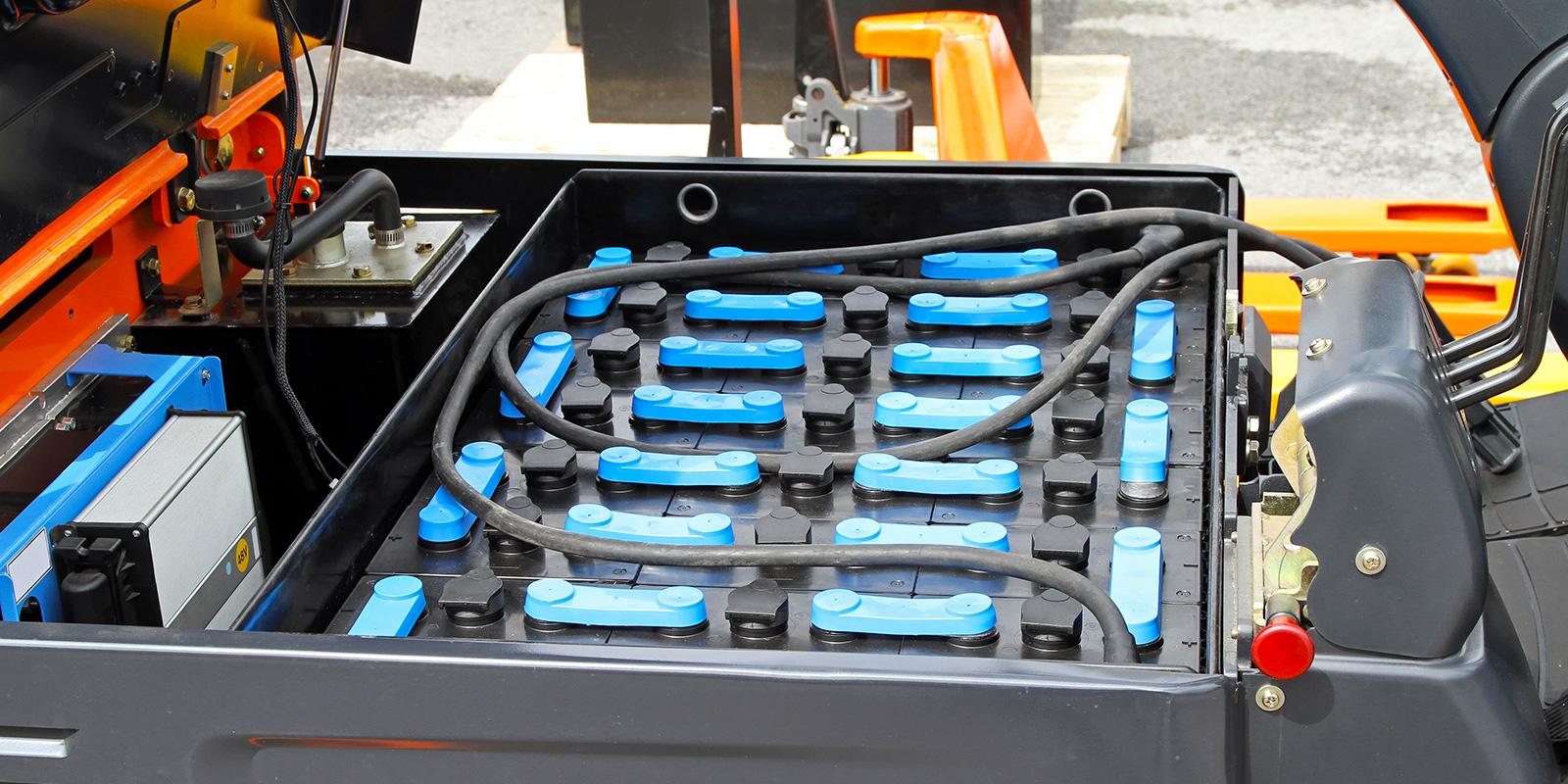 batterie per sollevamento pallet